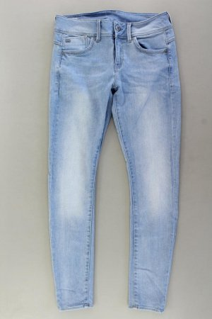 G-Star RAW Skinny Jeans Größe W29 blau aus Baumwolle