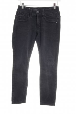 G-Star Raw Skinny Jeans schwarz meliert Casual-Look