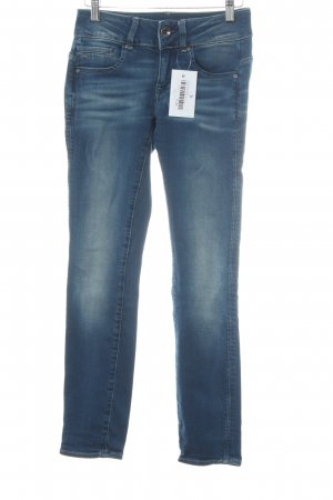 G-Star Raw Skinny Jeans stahlblau-kornblumenblau Casual-Look