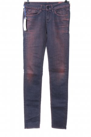 G-Star Raw Slim Jeans blau-pink Casual-Look