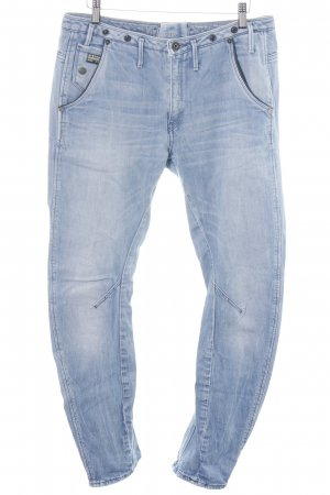 G-Star Raw Slim Jeans blau Street-Fashion-Look