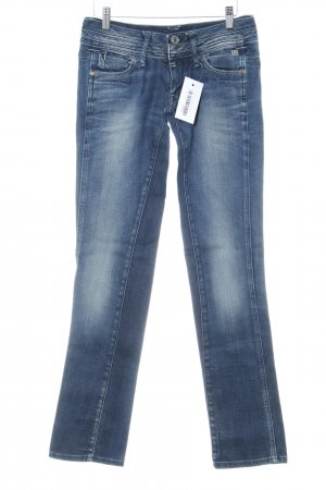 G-Star Raw Slim Jeans blau Used-Optik