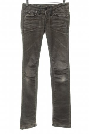 G-Star Raw Slim Jeans graubraun Used-Optik