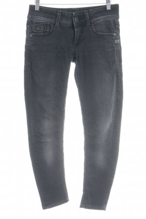 G-Star Raw Slim Jeans schwarz Bleached-Optik