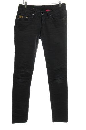 G-Star Raw Slim Jeans schwarz schlichter Stil