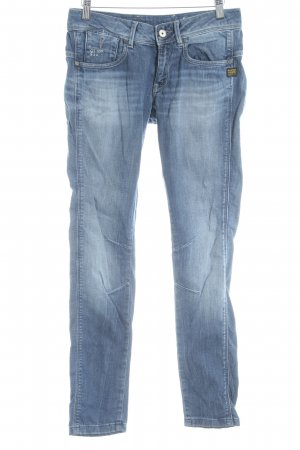 G-Star Raw Slim Jeans stahlblau Washed-Optik
