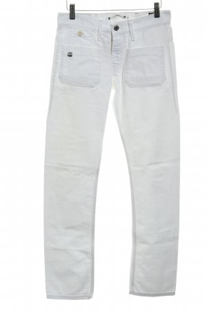 G-Star Raw Slim Jeans weiß Casual-Look