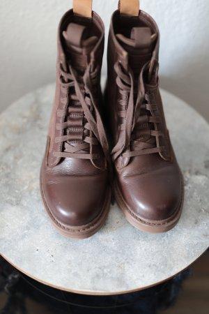 G-Star Raw Aanrijg laarzen bruin Leer
