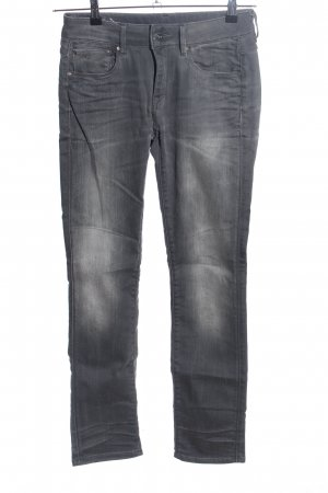 G-Star Raw Straight-Leg Jeans hellgrau Casual-Look