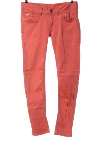 G-Star Raw Jeansy z prostymi nogawkami czerwony W stylu casual