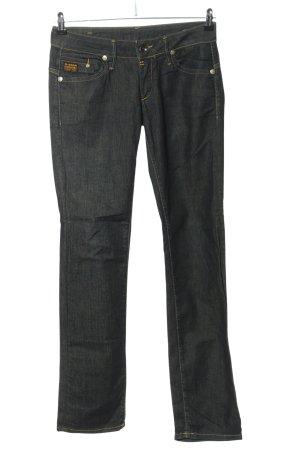 G-Star Raw Jeansy z prostymi nogawkami niebieski Melanżowy W stylu casual