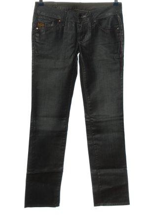 G-Star Raw Jeansy z prostymi nogawkami czarny W stylu casual
