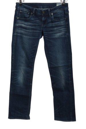 G-Star Raw Jeans a gamba dritta blu stile casual