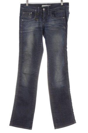 G-Star Raw Straight-Leg Jeans blau Casual-Look