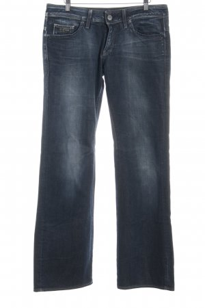 G-Star Raw Straight-Leg Jeans dunkelblau Business-Look