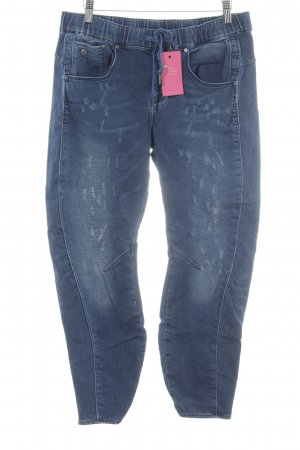 G-Star Raw Straight-Leg Jeans dunkelblau-graublau Casual-Look
