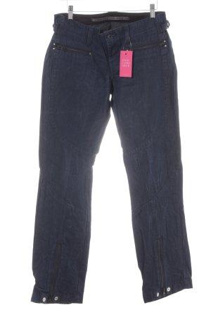 G-Star Raw Jeansy z prostymi nogawkami ciemnoniebieski Styl klasyczny