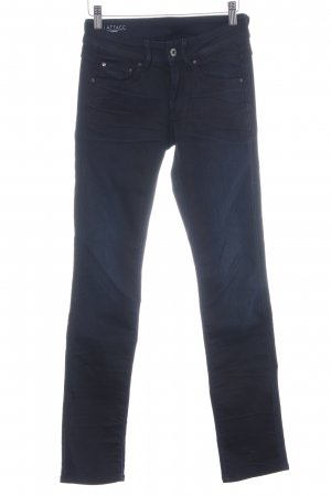 G-Star Raw Straight-Leg Jeans dunkelblau-schwarz Casual-Look