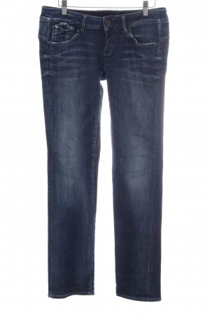 G-Star Raw Straight-Leg Jeans dunkelblau Street-Fashion-Look