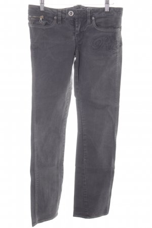 G-Star Raw Straight-Leg Jeans dunkelgrau Casual-Look