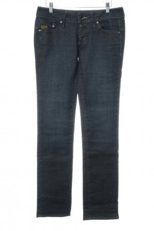 G-Star Raw Straight-Leg Jeans graublau Casual-Look