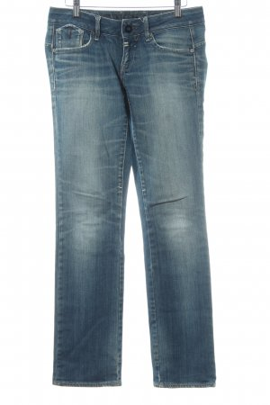 G-Star Raw Straight-Leg Jeans graublau