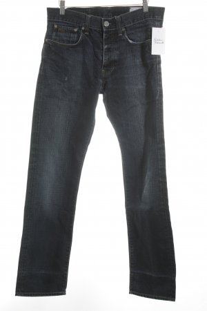 G-Star Raw Straight-Leg Jeans schwarz-dunkelblau Casual-Look