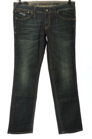G-Star Raw Jeansy z prostymi nogawkami czarny-w kolorze białej wełny Elegancki