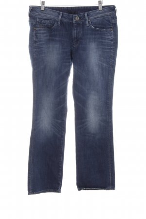 G-Star Raw Straight-Leg Jeans stahlblau Casual-Look