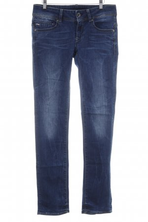 G-Star Raw Straight-Leg Jeans stahlblau Jeans-Optik