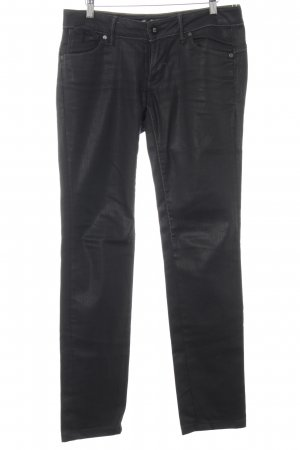 G-Star Raw Straight-Leg Jeans taupe Logo-Applikation