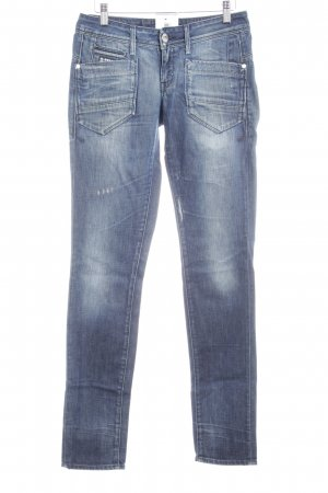 G-Star Raw Straight-Leg Jeans weiß-dunkelblau Casual-Look