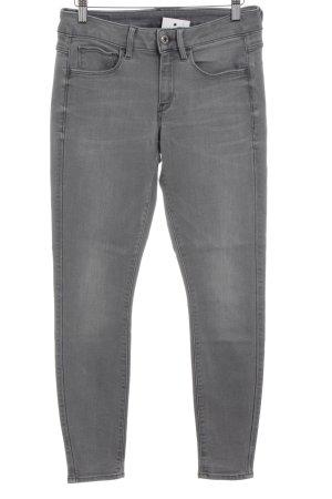 G-Star Raw Stretch Jeans hellgrau-grau Casual-Look