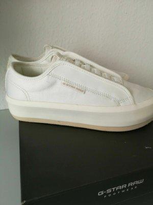 G-Star RAW strett lace up sneaker Gr.36  Naturweis