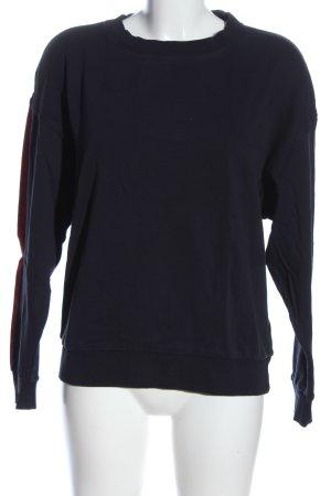 G-Star Raw Sweatshirt Schriftzug gedruckt Casual-Look