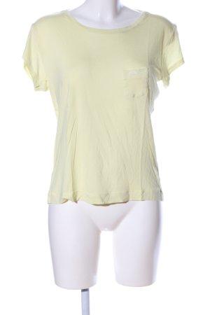 G-Star Raw T-Shirt blassgelb Casual-Look