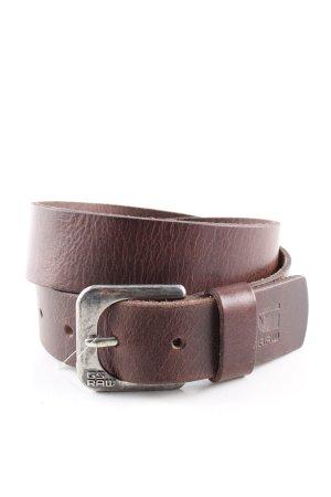 G-Star Raw Cinturón pélvico marrón look casual
