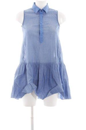 G-Star Raw Transparenz-Bluse blau Casual-Look