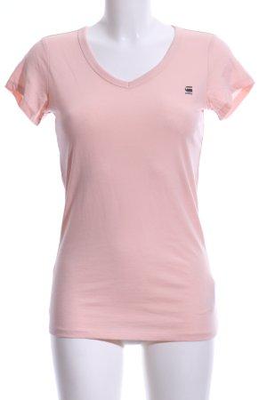 G-Star Raw V-Ausschnitt-Shirt creme Casual-Look