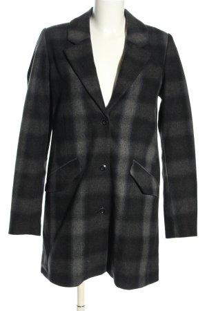 G-Star Raw Wool Coat light grey check pattern business style