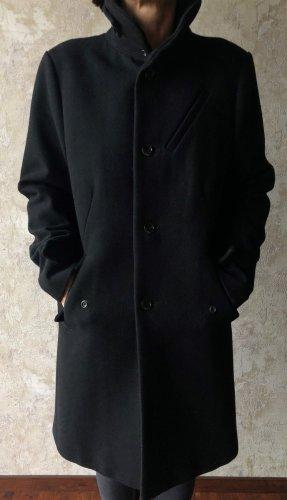 G-Star Raw Krótki płaszcz czarny Wełna
