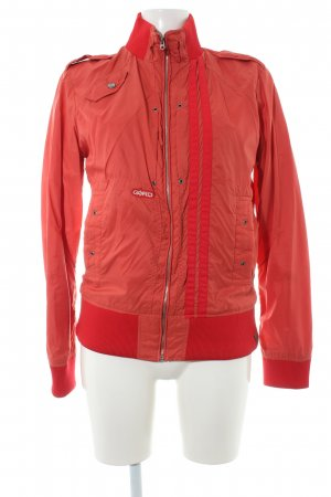 G-Star Ripstop jack zalm-rood Jaren 90 stijl