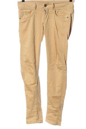 G-Star Spodnie rurki nude W stylu casual