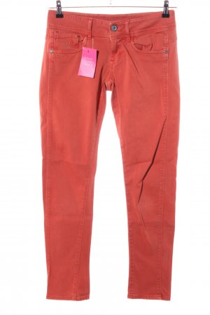 G-Star Röhrenhose rot Casual-Look