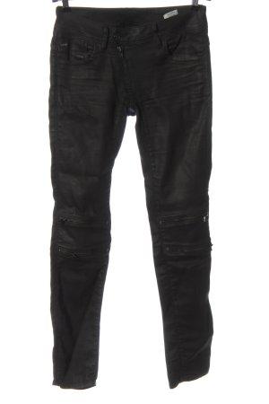 G-Star Pantalon cigarette noir style décontracté