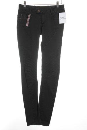 G-Star Pantalone a sigaretta nero stile da moda di strada