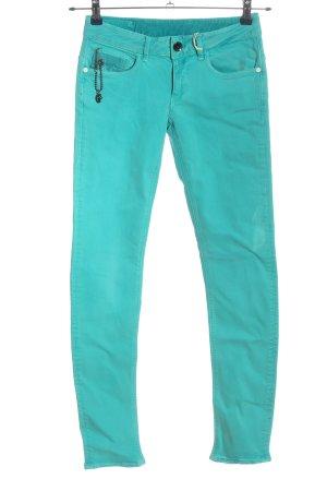 G-Star Jeans a sigaretta turchese stile casual