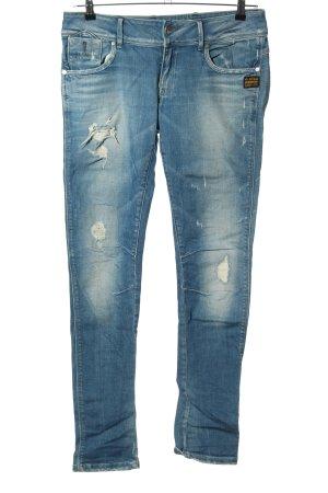 G-Star Jeans a sigaretta blu stile casual
