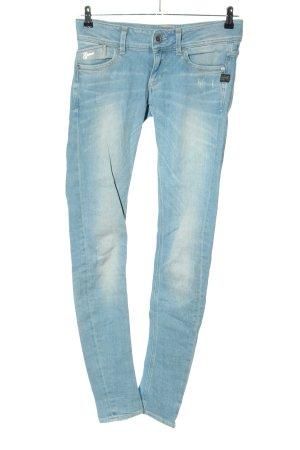 G-Star Jeans cigarette bleu style décontracté