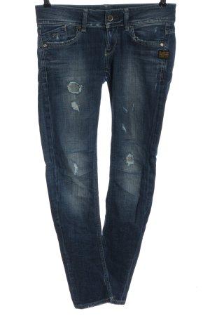 G-Star Jeansy rurki niebieski W stylu casual